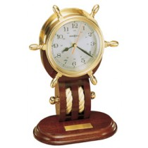 #613-467 Britannia Ship's Wheel Clock